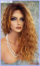 LACE FRONT LONG CURLY OMBRE STYLE WIG TT4.3147 GORGEOUS SEXY STYLE US SELL 1085