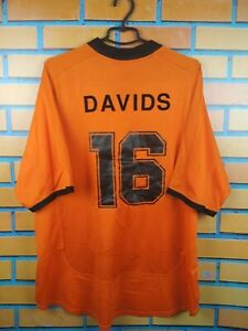 Davids Hollnad Netherlands Jersey 2001 2002 Home XXL Shirt Soccer Football Nike