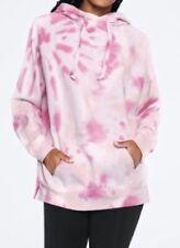 ❤️ VICTORIAS SECRET PINK Tie Dye Legging Pullover Hoodie Hooded Top Large L