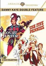 Danny Kaye Double Feature: The Five Pennies / The Court Jester, New DVD, Danny K