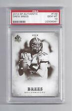 Drew Brees Card 2012 SP Authentic #149  PSA 10 GEM MINT