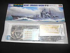 HASEGAWA 43334 1/700 WATERLINE SERIES IJN NACHI HEAVY CRUISER KIT W/ AFTERMARKET