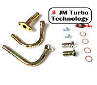 BLUE JM Turbo 4 4-ply Air Cooler CAC Turbo Coupler Hump Hose With Clamps