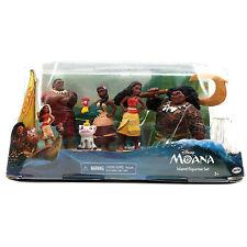 Disney Moana Island Figurine Set Moana Maui Tui Sina Pua 5 Figure Set