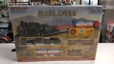 Bachmann Rail Boss Train Set HO scale 0-6-0 Steam Locomotive #00687 Factory seal