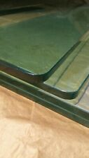 """4 Custom Finished Tempered Glass Shelves 37""""x12""""x1/2"""" Thick and Beautiful"""