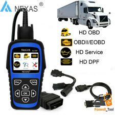 NEXAS NL102P HEAVY DUTY TRUCK DIAGNOSTIC SCANNER CAR CODE READER DPF OILRESET