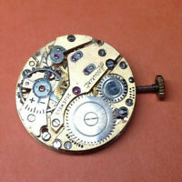 AS 984 ( Accurist ) gents mechanical watch movement - ticking - restoration
