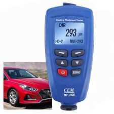 Paint Coating Thickness Meter 1250um (49.2mils) F/ NF Probe Sensor w/ 400 Memory