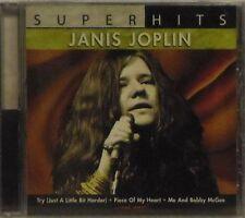 JANIS JOPLIN 'SUPER HITS' 10-TRACK CD SEALED