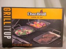 Grill Pans Char-Broil 3 piece mini set BBQ Grilling Cooking