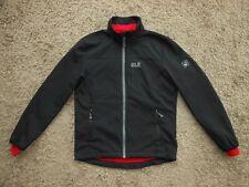 Mens Jack Wolfskin Flexshield Jacket in Black - Size Small