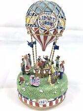 Liberty Falls Airship Hot Air Balloon Musical Music Box Ah555