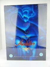 Disney Aladdin VHS Deluxe Video Edition Gift Set New in Pkg