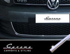 VW Golf 6 VI  GTI  GTD Typ 1K Chrom Leisten für Kühlergrill unten Bogen 3M