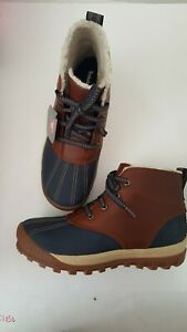 Timberland Mt. Hayes Chukka Faux Fur Lined Waterproof Leather  Boot Color Glazed