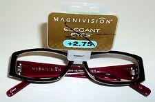 FOSTER GRANT Fashion Reading Glasses ELIZABETH MAG +2.75 NWT #32