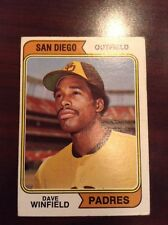 1974 Topps Dave Winfield RC Rookie Card #456 EX+