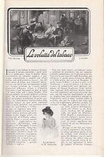 LAZZARESCHI EUGENIO LA VOLUTTÀ DEL TABACCO 1914 ESTRATTO IL SECOLO XX