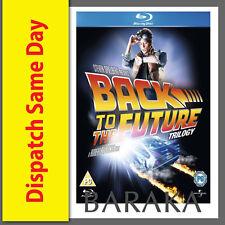 BACK TO THE FUTURE Trilogy 1 2 3 BLU-RAY Region B/Aust New & Seald