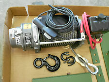 18,000lb warn winch 24 volt Military M35 77232 Controller