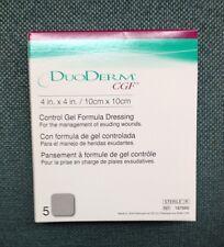 Convatec Duoderm CGF 4x4 187660 1 Full Box 5ea Exp 2021