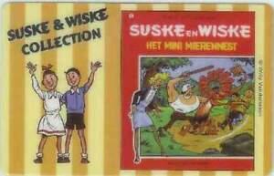 Telefoonkaart / Phonecard - Suske en Wiske / Het mini Mierennest (009)