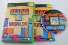 MICROSOFT XBOX TETRIS WORLDS COMPLETO PAL ESPAÑA