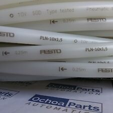 FESTO 193406 PLASTIC TUBING PLN-10X1,5-NT CLEAR 1 METER