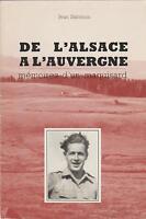 Jean Salomon : de l'alsace a l'auvergne, mémoires d'un maquisard (hommage auteur