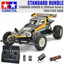 TAMIYA RC 58336 The Hornet 2004 1:10 Standard Stick Radio Bundle