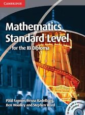 Mathematics for the IB Diploma Standard Level with CD-ROM, Ward, Stephen, Woolle