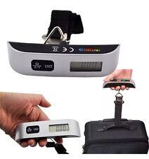 Portátil 50kg/10g Digital LCD electrónico Equipaje Colgante Peso escala del Reino Unido