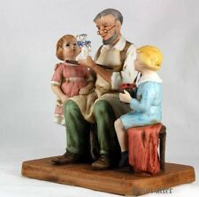 Used! Excellent! Norman Rockwell pottery doll pleasant toy craftsman and girls