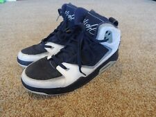 Nike Air Jordan SC-2 White Obsidian Blue 454050-402 Sz 10.5