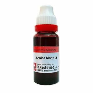 Dr. Reckeweg Arnica Mont Mother Tincture Q 20 ml ----Made in Germany----