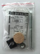 "#3001 3 1/2"" Rail Bolt, Hand Rail to Post / Fitting Install Kit, Instructions"