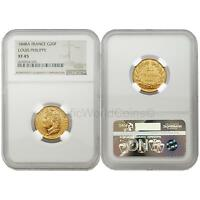 France 1848A Louis Philppe 20 Francs Gold NGC XF45