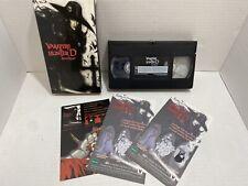 Vampire Hunter D Bloodlust (VHS, 2000) Rare Anime Action Horror Non-Rental