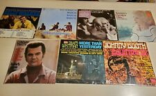 Country Music Vinyl LP Record Albums Twitty George Jones Tammy Wynette and MORE