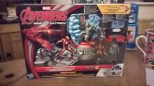 New Iron man superhero Marvel age of ultron Iron man lab attack toy by  Hasbro