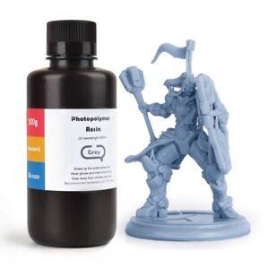 ELEGOO Standard 3D Printer Rapid Resin  500Gram Grey