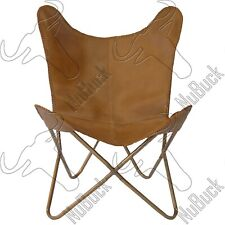 Whisky Leather - Butterfly Chair