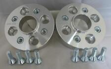 Seat Arosa 4x100 20mm Hubcentric Wheel spacers 1 pair inc bolts