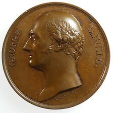 Great Britain France GEORGE CANNING, STATESMAN By Galle