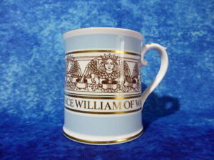 Vintage SPODE Prince William Christening MUG 4th August 1982 - RARE ROYAL WARE