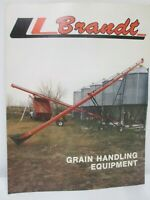 Brandt Machinery & Mfg Grain Handling Equipment Transport Augers Drill Brochure