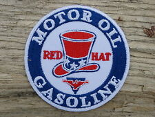 A202 ECUSSON PATCH THERMOCOLLANT aufnaher toppa RED HAT GASOLINE automobile r66