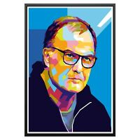 Marcelo Bielsa Leeds United Art Poster Photo Print Leeds Memorabilia