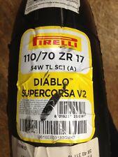 MOTORRADREIFEN 110 /70 ZR17 M/C 54W PIRELLI DIABLO SUPERCORSA V2 TL SC1 (A) FRON
